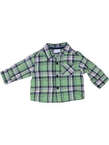 Camisa de manga larga niño CHEROKEE verde 6 meses invierno #1486352_1