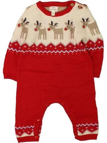 Combinación larga niño JOHN LEWIS rojo 3 meses invierno #1486550_1