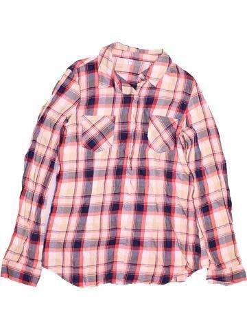 Camisa de manga larga niño MARKS & SPENCER rosa 14 años invierno #1486592_1
