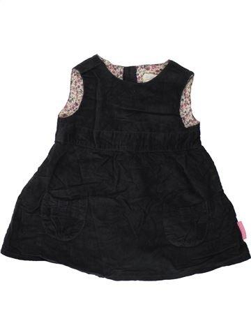 Robe fille JOJO MAMAN BÉBÉ noir 12 mois hiver #1486902_1