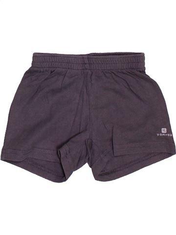 Short-Bermudas niño DOMYOS gris 18 meses verano #1487010_1