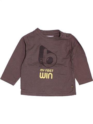 Camiseta de manga larga niño OBAIBI gris 12 meses invierno #1487017_1