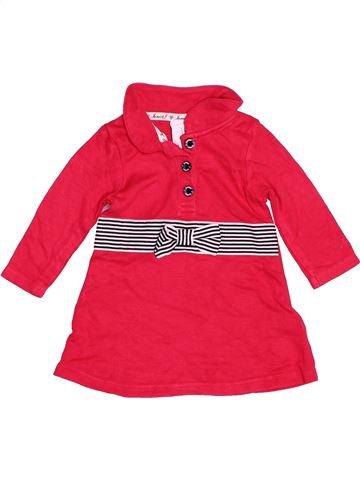 Vestido niña JASPER CONRAN rojo 3 meses invierno #1487267_1