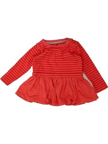 Robe fille SANS MARQUE rouge 6 mois hiver #1487488_1