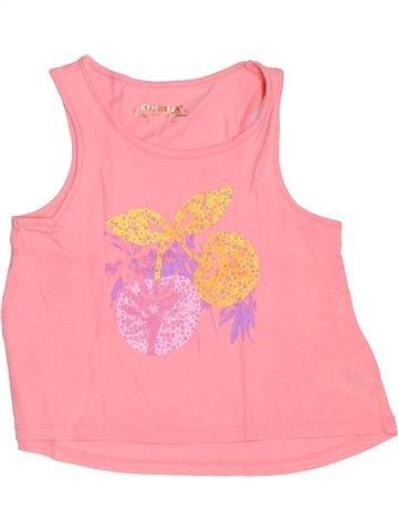T-shirt sans manches fille ORCHESTRA rose 6 ans été #1487611_1