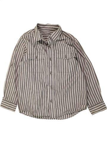 Chemise manches longues garçon MATALAN gris 7 ans hiver #1487632_1