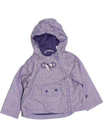 Anorak-Trinchera niña OKAIDI violeta 6 meses verano #1487982_1
