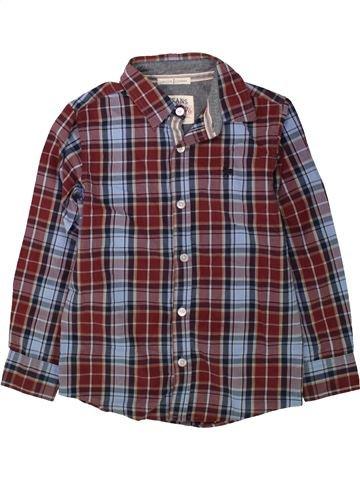 Chemise manches longues garçon JASPER CONRAN gris 8 ans hiver #1488065_1