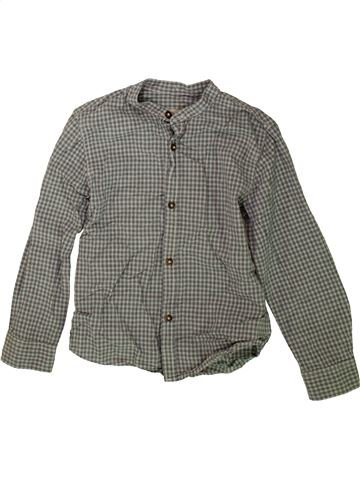 Chemise manches longues garçon ZARA gris 5 ans hiver #1488353_1
