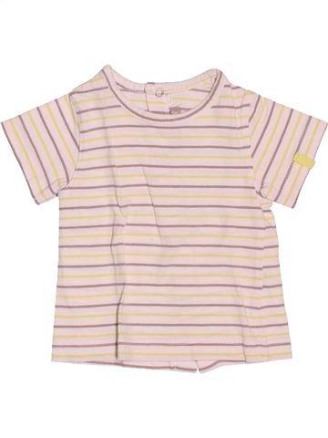 Camiseta de manga corta niño ORCHESTRA blanco 3 meses verano #1488399_1