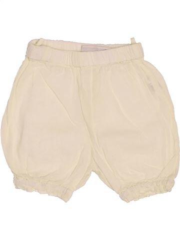 Short - Bermuda fille BOUT'CHOU beige 3 mois été #1488455_1