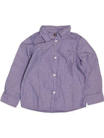 Camisa de manga larga niño TAPE À L'OEIL gris 3 años invierno #1488500_1