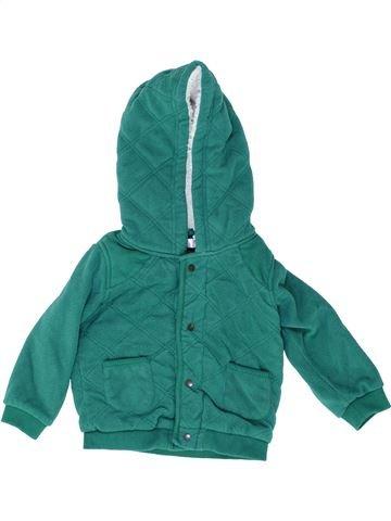 Cazadora niño MARKS & SPENCER verde 12 meses invierno #1488549_1