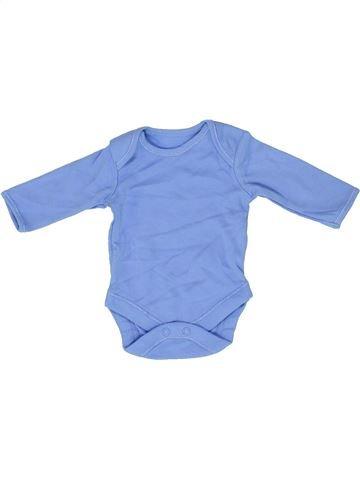T-shirt manches longues garçon GEORGE bleu prématuré hiver #1488694_1