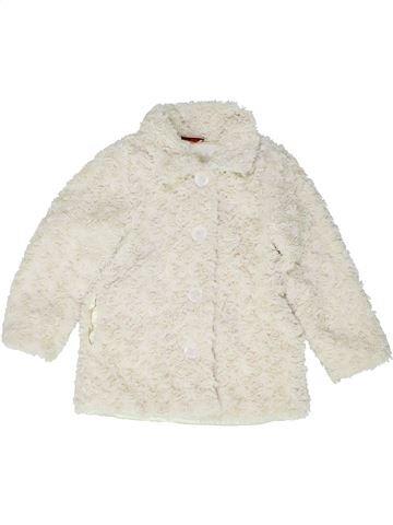 Veste fille GEORGE blanc 4 ans hiver #1488763_1