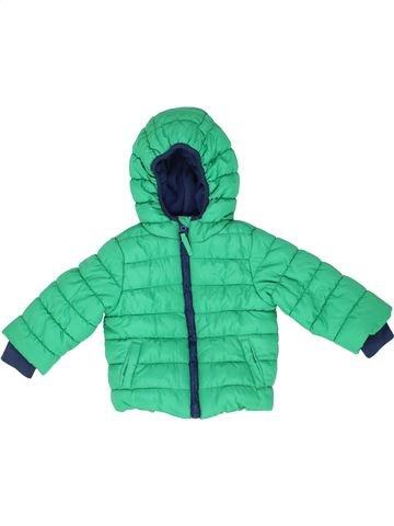 Doudoune garçon MOTHERCARE vert 9 mois hiver #1488905_1
