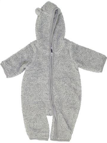 Robe de chambre garçon GAP gris 3 mois hiver #1488960_1