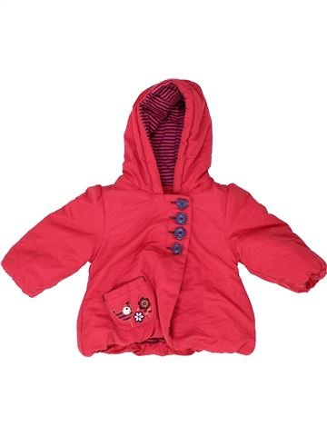 Manteau fille MOTHERCARE rose 6 mois hiver #1489093_1