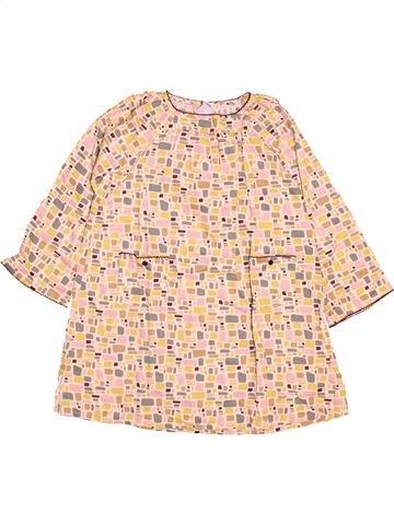 Robe fille PETIT BATEAU beige 6 ans hiver #1489128_1