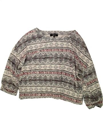 Pull fille NEW LOOK gris 15 ans hiver #1489281_1