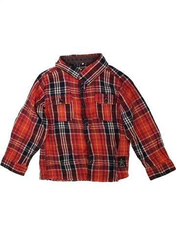 Chemise manches longues garçon NAME IT marron 3 ans hiver #1489321_1