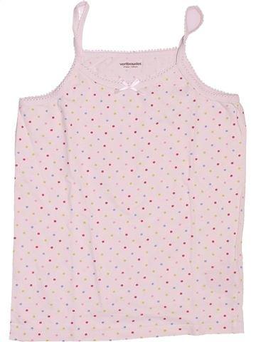 T-shirt sans manches fille VERTBAUDET rose 10 ans été #1489326_1