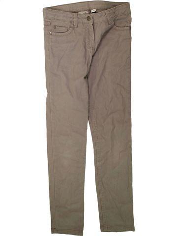 Pantalon fille PEPPERTS marron 10 ans hiver #1489567_1