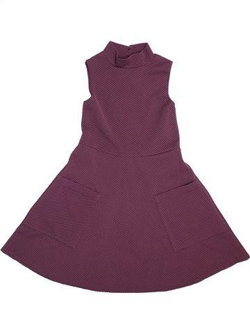 Robe fille M&CO violet 10 ans hiver #1489587_1