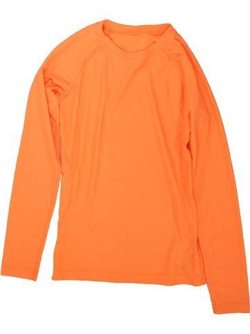 T-shirt manches longues fille DUNNES STORES orange 10 ans hiver #1489699_1
