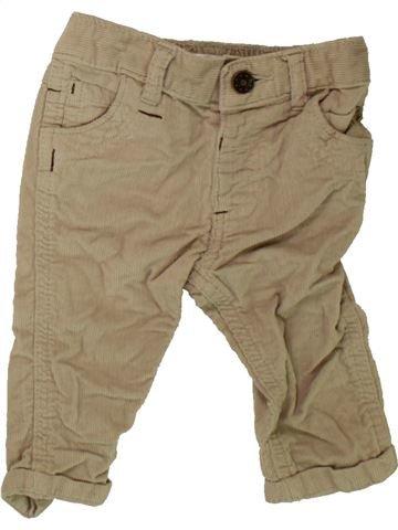 Pantalón niño M&CO beige 6 meses invierno #1489702_1