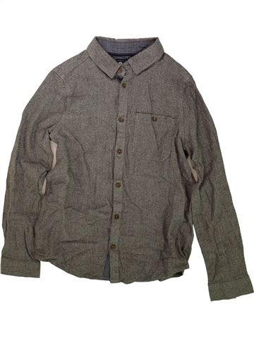 Chemise manches longues garçon PRIMARK gris 13 ans hiver #1489763_1