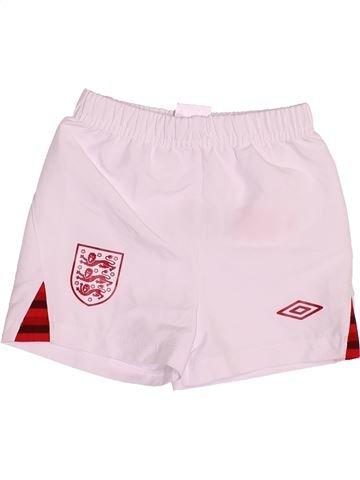 Pantalon corto deportivos niño UMBRO rosa 6 meses verano #1489787_1