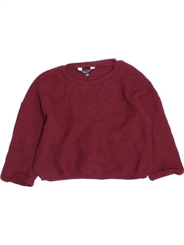 Pull fille NEW LOOK marron 13 ans hiver #1489845_1
