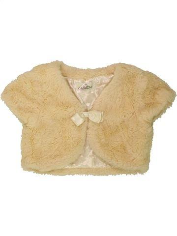 Gilet fille DRESSED TO IMPRESS beige 11 ans hiver #1490287_1