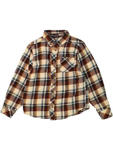 Chemise manches longues garçon BOYS marron 7 ans hiver #1490321_1