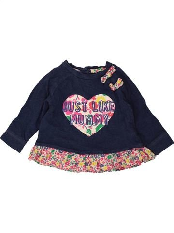 T-shirt manches longues fille LADYBIRD rose 6 mois hiver #1490480_1