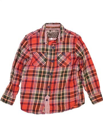 Chemise manches longues garçon ROCHA JOHN ROCHA rouge 7 ans hiver #1490489_1