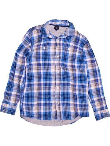 Chemise manches longues garçon GAP bleu 13 ans hiver #1490541_1