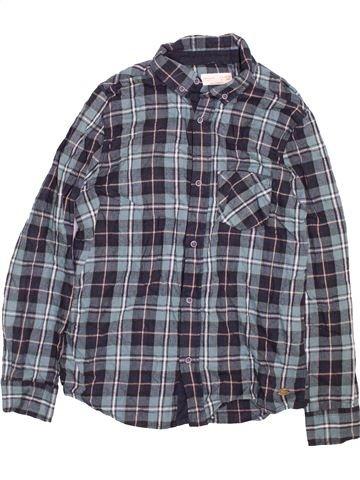 Chemise manches longues garçon ZARA bleu 14 ans hiver #1490601_1