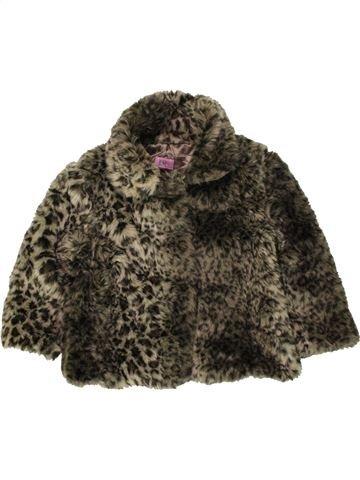Veste fille F&F marron 3 ans hiver #1490750_1