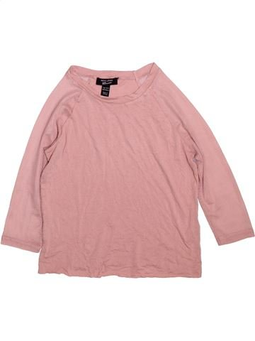 T-shirt manches longues fille NEW LOOK rose 11 ans hiver #1490809_1