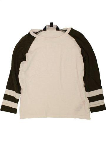 T-shirt manches longues fille NEW LOOK bleu 9 ans hiver #1490829_1
