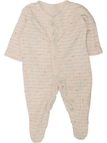 Pijama de 1 pieza niño GEORGE azul 1 mes verano #1490831_1