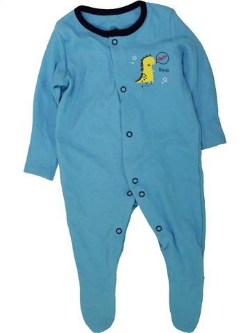 Pyjama 1 pièce garçon GEORGE bleu 3 mois été #1490905_1