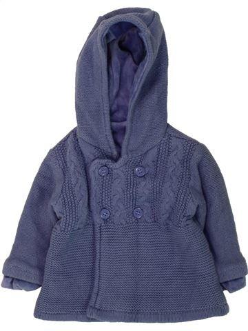 Gilet garçon MOTHERCARE violet 6 mois hiver #1490926_1