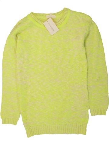 Pull fille TAMMY jaune 13 ans hiver #1491049_1