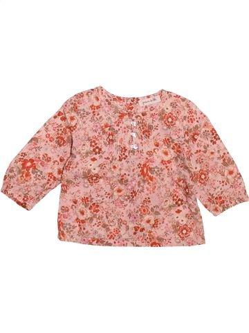Blusa de manga larga niña GRAIN DE BLÉ rosa 6 meses invierno #1491061_1
