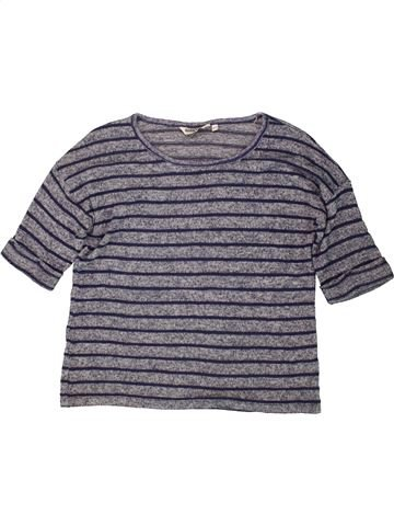 Pull fille NEW LOOK violet 13 ans hiver #1491084_1