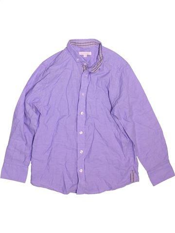 Chemise manches longues garçon BLUEZOO violet 8 ans hiver #1491142_1
