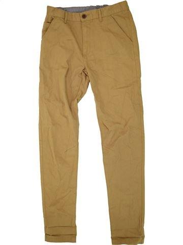 Pantalon garçon GEORGE marron 13 ans hiver #1491178_1